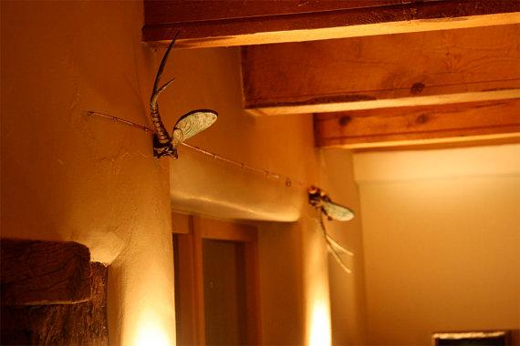 Mayfly rod holder