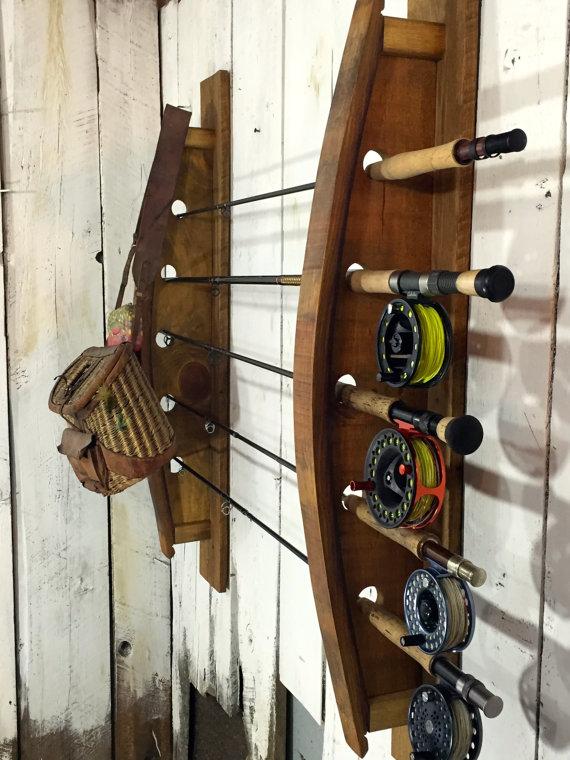 fly rod rack